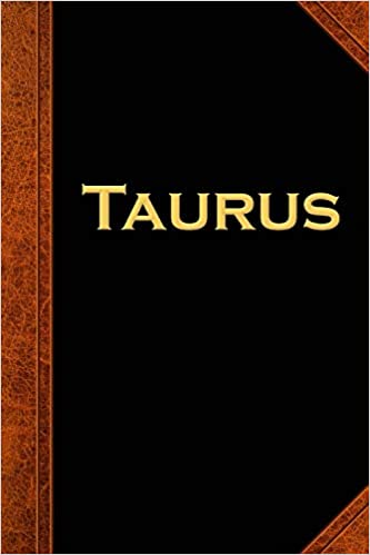 2019 Daily Planner Taurus Zodiac Horoscope Vintage 384 Pages