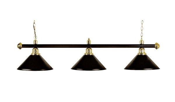 Modelo London, Negro, leuche para mesa de billar iluminación: Amazon.es: Deportes y aire libre