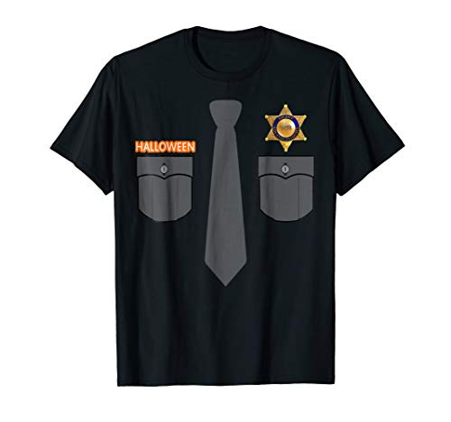 (Prison Guard Correctional Officer T-shirt Halloween)