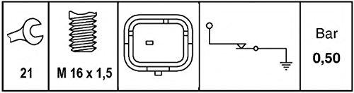 HELLA 6ZL 009 600-041 Öldruckschalter, Gewindemaß M16x1,5 Hella KGaA Hueck & Co.