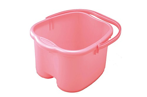 Foot Soak Tubs - Inomata Foot Detox Massage Spa Bucket, Pink