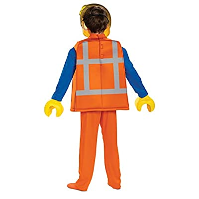 Disguise Emmet LEGO Movie 2 Deluxe Boys' Costume: Toys & Games