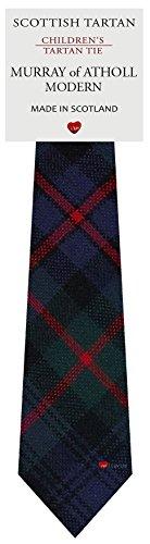 Murray Of Atholl Tartan (Boys Clan Tie All Wool Woven in Scotland Murray of Atholl Modern Tartan)