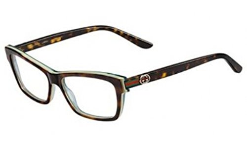 Gucci Eyeglasses GG 3562 - LA2 Havana and Green - - Mens Eyewear Gucci