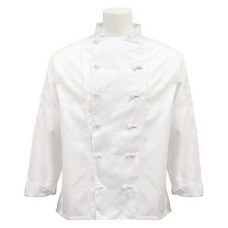 Fame Fabrics 81560 C1 EXECUTIVECHEF COAT FINE LINE WHITE 3X