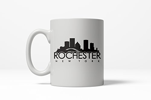 Rochester New York Cool Upstate City Ceramic Coffee Drinking Mug - 11oz -