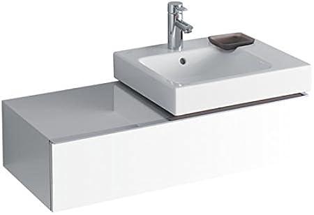 Keramag Icon Aufsatzwaschtisch.Keramag Waschbeckenunterschrank Icon Fur Waschtisch 124050 89x24cm