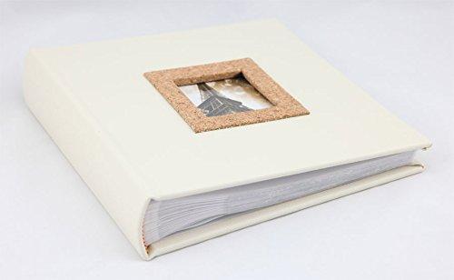 Cork Fotoalbum für 200 Fotos in 13x18 cm Einsteck Foto Album Memoalbum