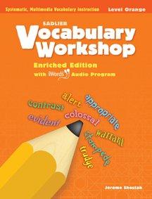 Vocabulary Workshop ©2011 Level Orange (Grade 4) Student Edition Paperback - 2011 (Vocabulary Workshop Enriched Edition Level F Answer Key)