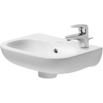Duravit D Code Bathroom Sink Bathroom Sinks Amazon Com