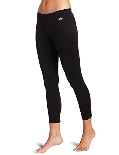 Hot Chillys Women's Peach Bottom (Black, Medium)