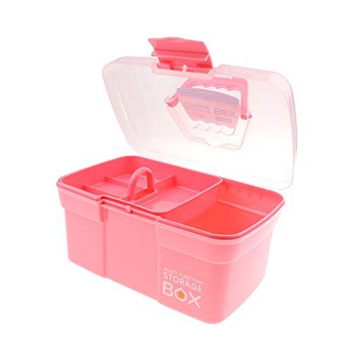 D DOLITY Durable, Caja De Plástico del Envase De Almacenamiento del Animal Doméstico, Caja De Transporte Al Aire Libre con...