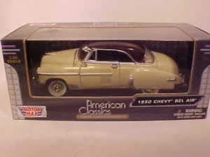 ard Top Coupe Die-cast Car 1:24 8 inch Yellow Brown ()