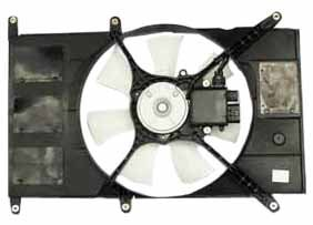 TYC 600910 Mitsubishi Galant Replacement Radiator Cooling Fan (Mitsubishi Galant Radiator Cooling Fan)