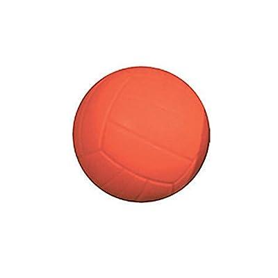 Balle rebondissante Rouge avec diamètre de 58 mm en caoutchouc PU