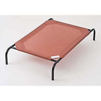 Coolaroo The Original Elevated Pet Bed, Large, Terracotta