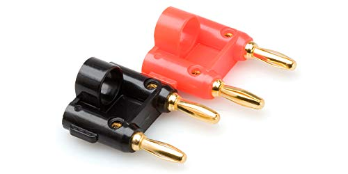 Hosa BNA-100 Dual Banana Connector, 2 Pieces
