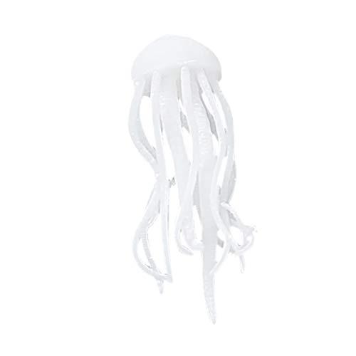 (NaditionDiy Crystal Epoxy Marine Filler 3D Stereo Mini Jellyfish Model Decoration Bedroom Dormitory)