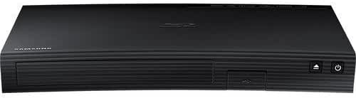 Samsung Blu-ray DVD Disc Player With 1080p Full HD Upconversion, Plays Blu-ray Discs, DVDs & CDs, Plus 6Ft High Speed HDMI Cable, Black Finish