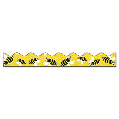 Bordette Bee Dazzle Design Decorative Border, 2 1/4