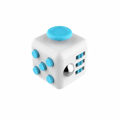 Coopei Fidget toys Cube for Fidgeters! Stress Relief Anxiety Attention Desk Toy for Adult and Children (8#)