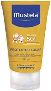 Mustela, Protector Solar Fluido Corporal FPS 50+, para cuerpo de Bebés y niños, Protege la piel de los rayos U