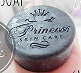 Carbon Black Soap Princess Skin Care 100 g. Carbon Soap, Soap Detox Acne by LITTLE BEE 2017 SHOP
