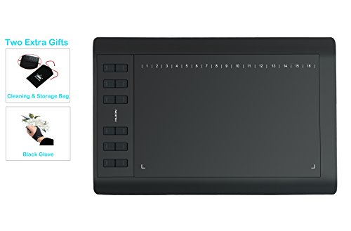 Huion 1060 Plus 12 Express Keys 2048 Druckstufen 5080LPI Grafiktablett