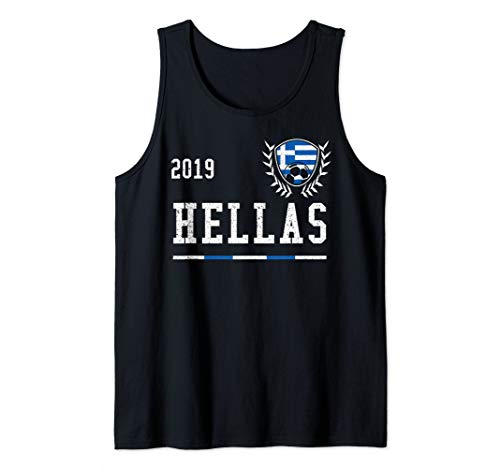 Greece Football Jersey 2019 Greek Soccer Jersey Tank Top