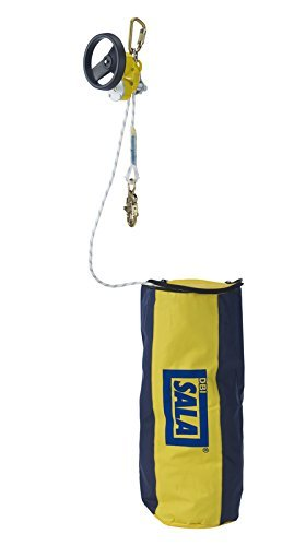 3M DBI-SALA Rollgliss 3327300 Rescue Unit, 300' Includes 2 Carabiner, 4' Anchor Sling and Rope Bag from 3M Fall Protection Business