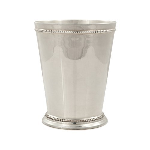 Stainless Steel Pint, Old Kentucky Home Mint Julep Cup Wide Mouth Pint Jars by Twine