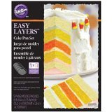 Wilton 2105-4630 Easy Layers Cake Pan -