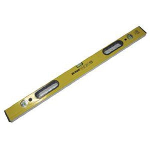 Ironside 152148 Wasserwaage Alu 3 Libellen 80 cm mit 2 Handgriffen gelb