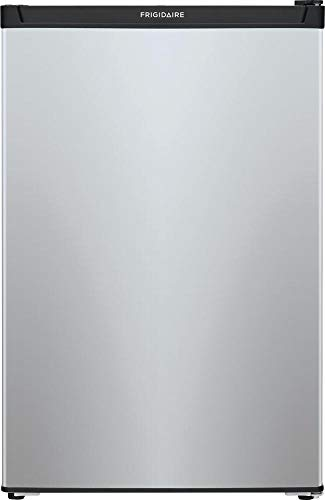 Frigidaire FFPE4533UM 22 Inch Freestanding Compact Refrigerator with 4.5 cu. ft. Capacity, in Silver Mist