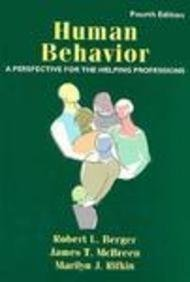 Human Behavior: A Perspective for the Helping Professions (4th Edition)