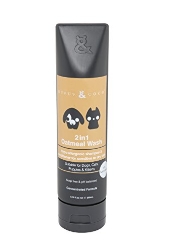 Rufus & Coco 2 in 1 Oatmeal Wash Concentrate Shampoo and Conditioner, 6.76 fl. oz. Review