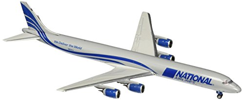 Gemini Jets National DC-8-71F 1:400 Scale