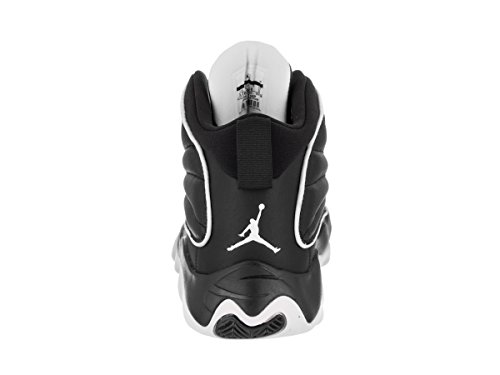 White Cuir Black Youth Pro BG Formateurs Strong Nike Jordan 8zqPR