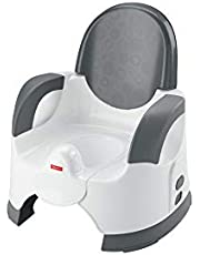 Fisher-Price Custom Comfort Potty, adjustable blue infant and toddler toilet training chair