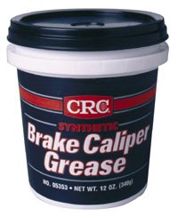 CRC 05353 12oz Brake Caliper Synthetic Grease Tube by CRC