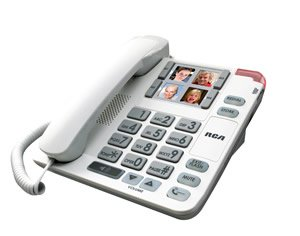 Supreme Power RCA Amplified Big Button Picture (Amplified Corded Big Button Phone)