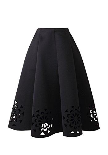 Full Skirt Pleats Skirt - 5