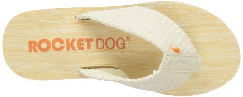 roto Crema de Diver Dog mujer Sandalias cuña para doble Blanco Rocket pRaUxqw