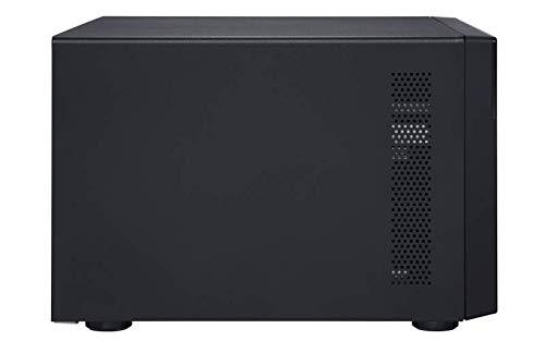 QNAP TVS-872XT-i5-16G-US 8 Bay Thunderbolt 3 NAS with 16GB RAM, 10GbE, M.2 PCIe NVMe SSD slots by QNAP (Image #5)