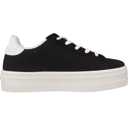Alto negro Lona Collo Nero Deportivo Barcelona A Donna Victoria Sneaker qSYgpA