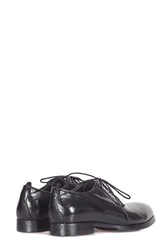 Dora03 Mujer Open Shoes De Closed Cordones Negro Cuero Zapatos wtwpUR