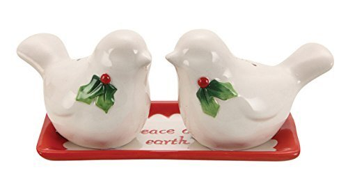 Holiday Birds Salt & Pepper Shaker