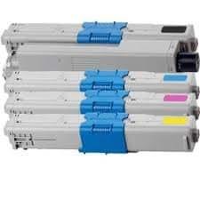 Sprint Toner ® - 4 Pack Okidata C310, C510 New Compatible Toners, 44469803 44469706 44469705 44469704 (BK,C,M,Y) C510/C310 C310dn C330dn C331dn C510dn C511dn C530dn C531dn MC351dn MC352dn MC361dn MC362dn MC561dn MC562dn - Canadian Company