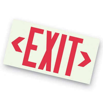 Unframed Exit Signs - 4