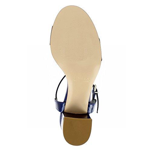 Scarpe Donna Mariella Blu Scuro Vernice Sandali Evita 8r8qxwaz